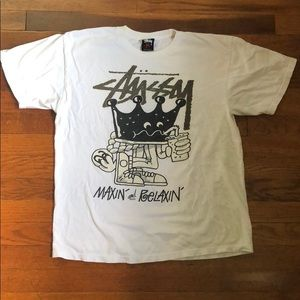 Stussy 'Maxin and Relaxin' Tee